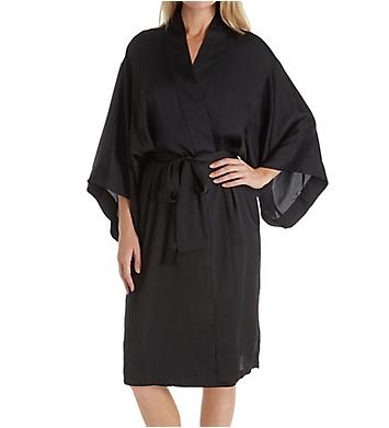 Natori Feathers Satin Wrap Robe