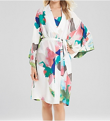 Natori Water Lily Wrap Robe