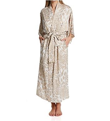 Natori Luxe Leopard Printed Robe