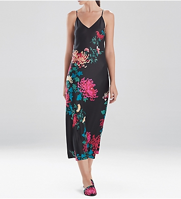 Natori Chrysanthemum Long Gown