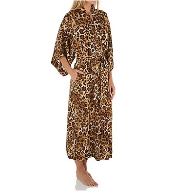 Natori Cheetah Long Robe