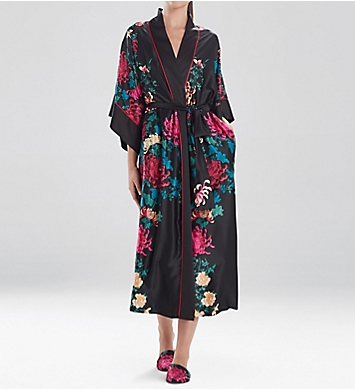 Natori Chrysanthemum Long Robe