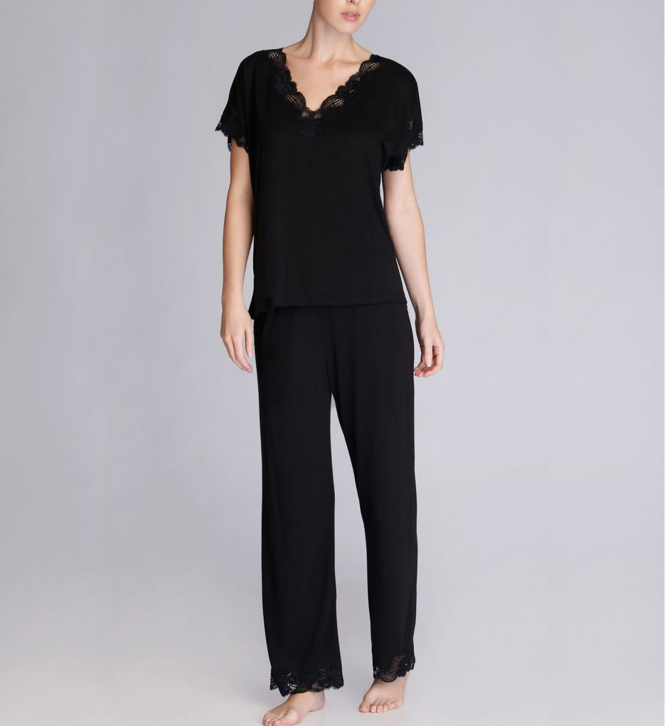 Natori Zen Floral 28 Short Sleeve PJ Set