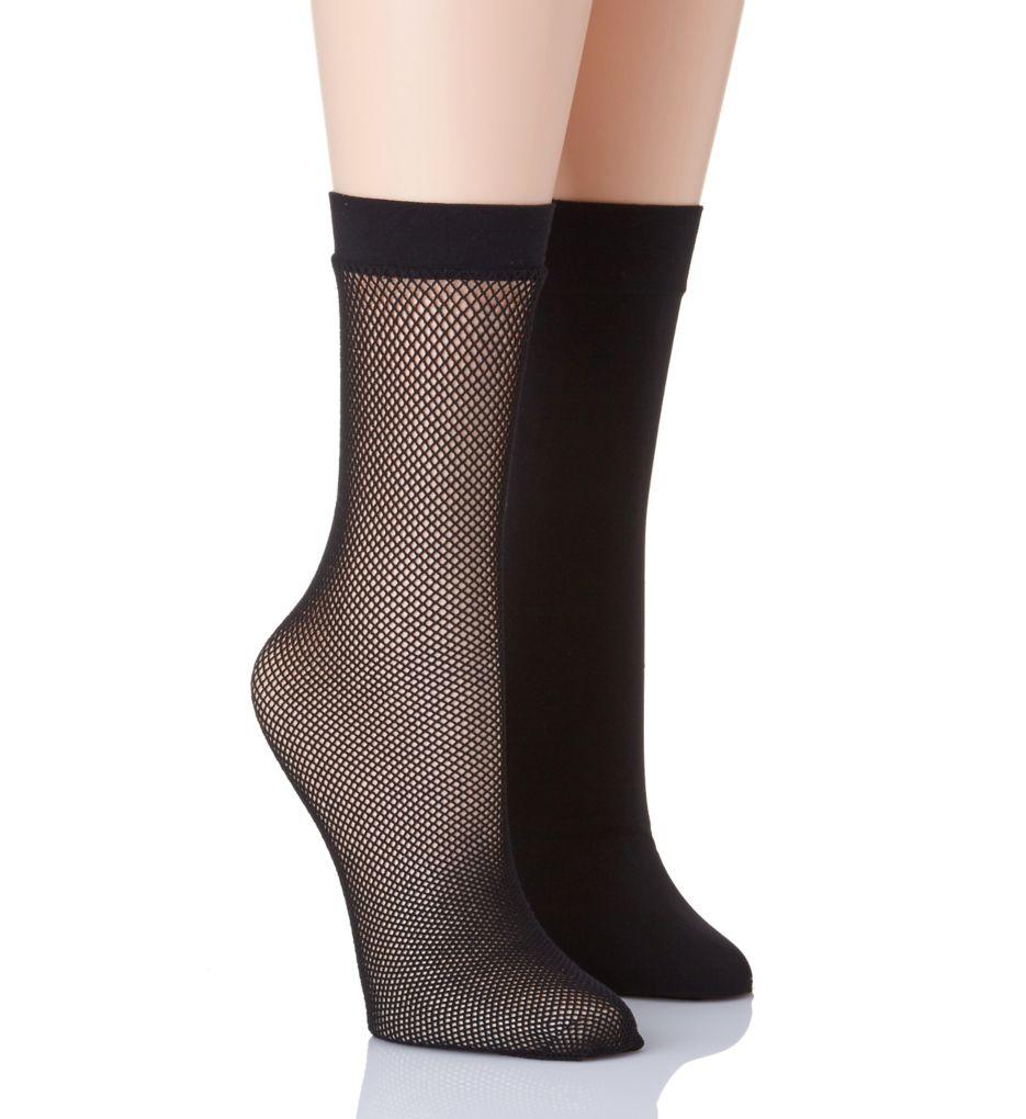 Natori Net Trouser Socks - 2 Pack