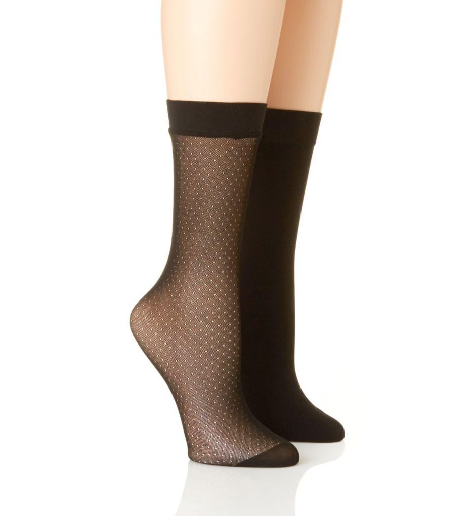 Natori Trouser Socks - 2 Pack