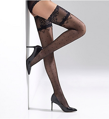Natori Diamond Dot Thigh High