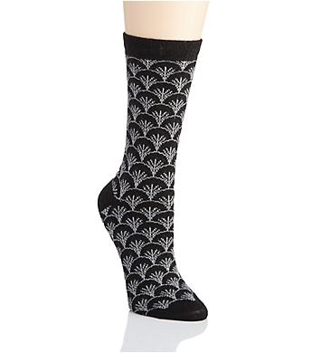 Natori Fretwork Cashmere Crew Sock