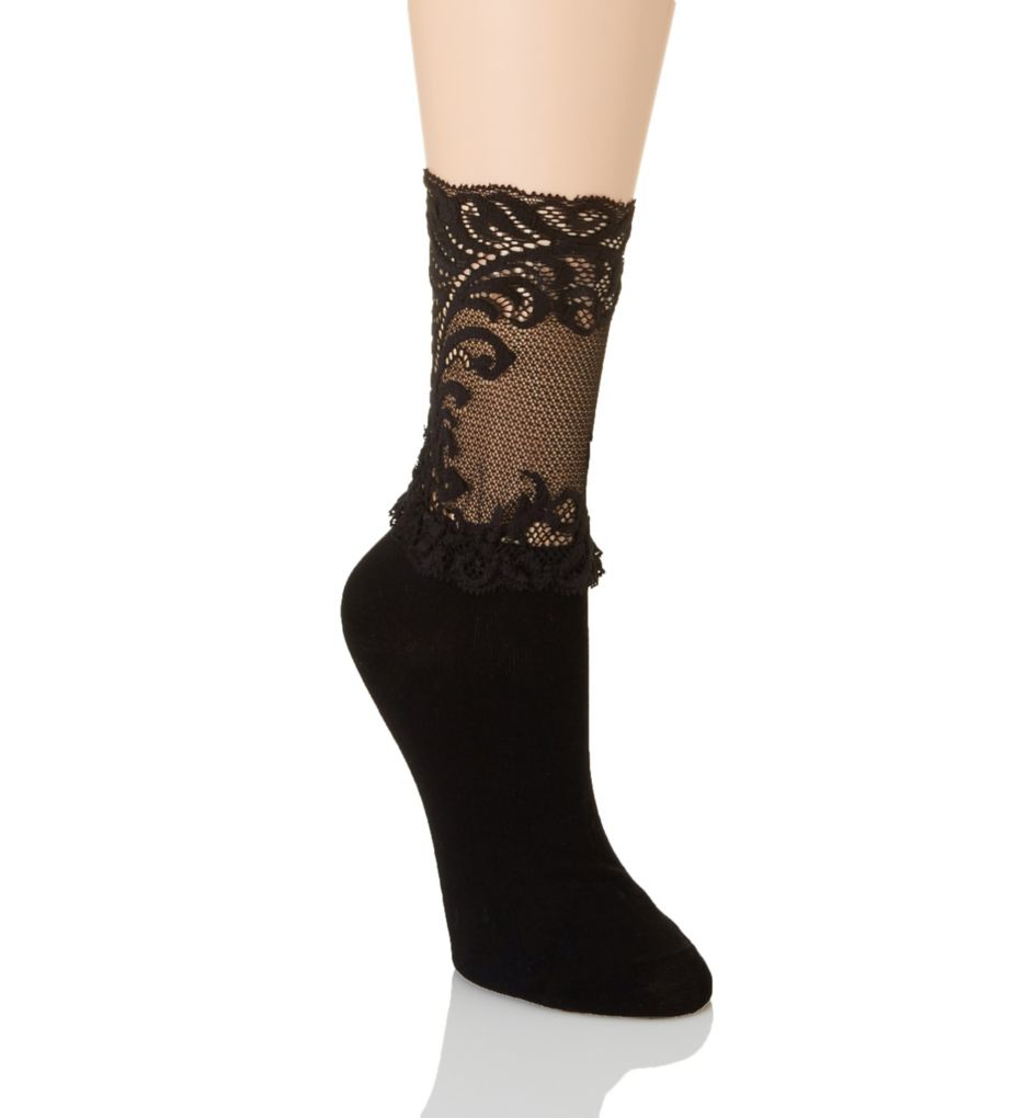 Natori Feathers Anklet Sock