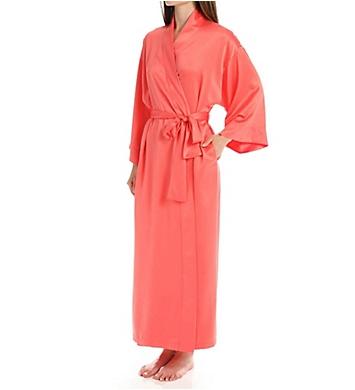 Natori Solid Charmeuse Essentials Robe