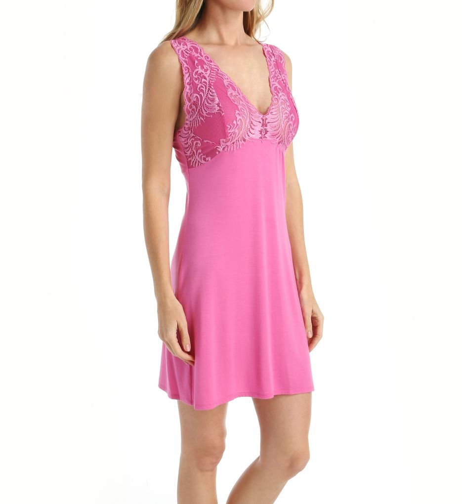 Natori Feathers Modal Jersey Lace Cup Chemise