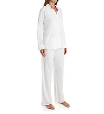 Natori Pima Paradise Cotton Longsleeve Pajama Set