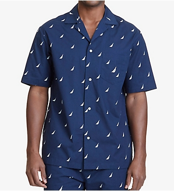 Nautica J Class Print Anchor Camp Shirt