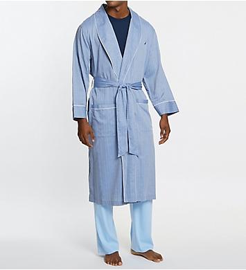 Nautica Woven Herringbone Robe