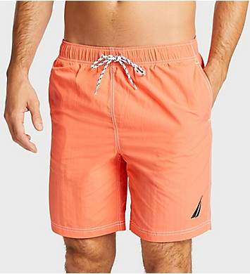 Nautica Big Man Solid 8.5 Inch Swim Trunk