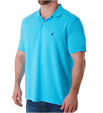 Nautica Pique Cotton Short Sleeve Deck Polo