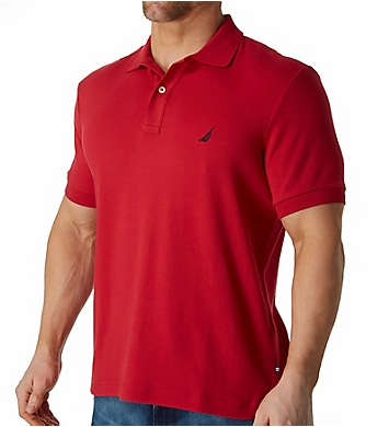 Nautica Anchor Fashion Solid Deck Polo Shirt