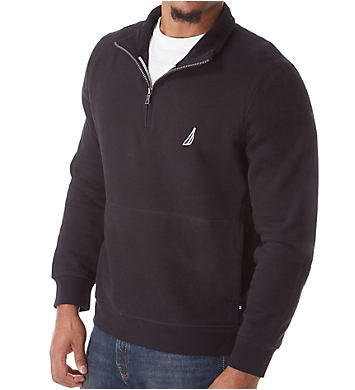 Nautica Fleece Long Sleeve 1/4 Zip Pullover