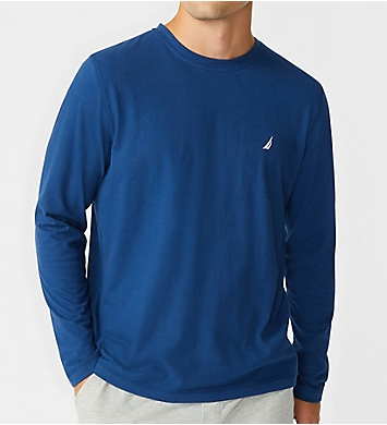Nautica Suede Jersey Long Sleeve T-Shirt