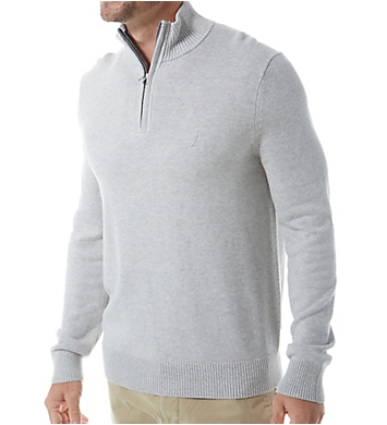 Nautica Tall Man Pima Cotton 1/4 Zip Sweater
