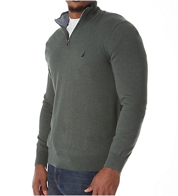 Nautica Big Man Cotton 1/4 Zip Sweater
