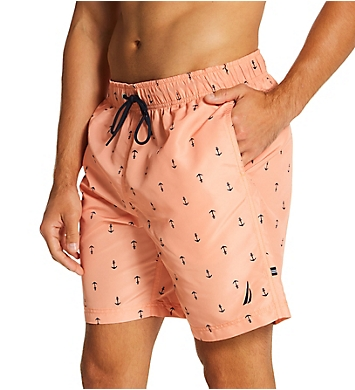 Nautica Anchor Print Swim Trunk