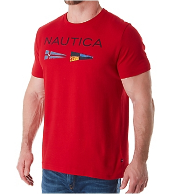 Nautica Nautica Flag Crew Neck T-Shirt