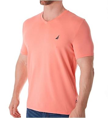 Nautica Solid V-Neck Short Sleeve T-Shirt