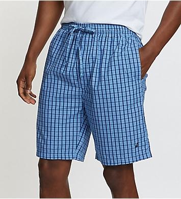 Nautica Anchor 100% Cotton Plaid Short