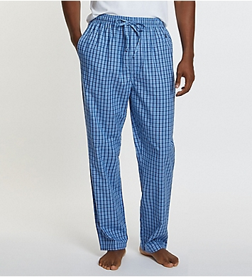 Nautica Anchor 100% Cotton Plaid Sleep Pant