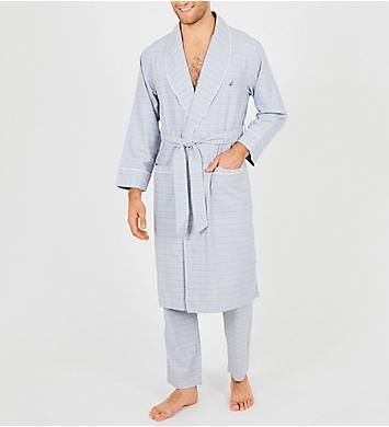 Nautica Anchor 100% Cotton Woven Robe
