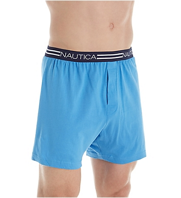 Nautica Cotton Knit Boxer - 3 Pack