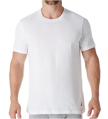 ad342a2a Nautica Cotton Crew Neck T-Shirt - 4 Pack X60434 - Nautica Undershirts