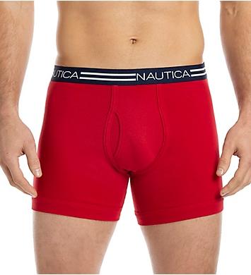 Nautica Cotton Boxer Briefs - 5 Pack