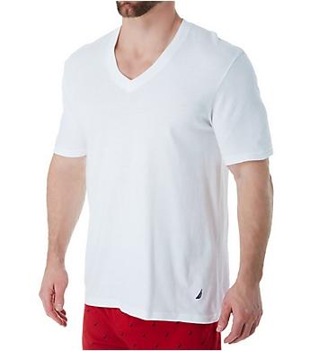 Nautica Cotton V-Neck T-Shirts - 3 Pack