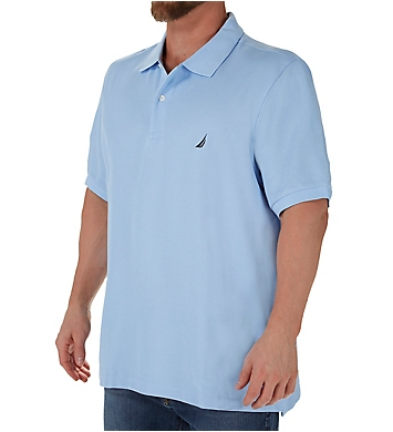 Nautica Big Man Anchor Solid Deck Polo Shirt