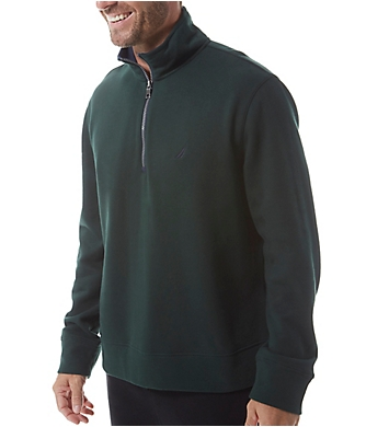 Nautica Big Man Fleece Long Sleeve 1/4 Zip Pullover