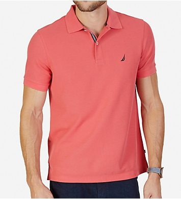 Nautica Tall Man Anchor Solid Deck Polo Shirt