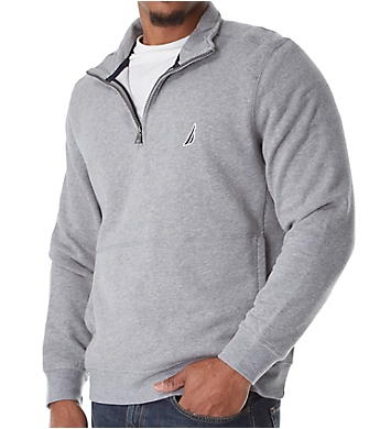 Nautica Tall Man Fleece Long Sleeve 1/4 Zip Pullover