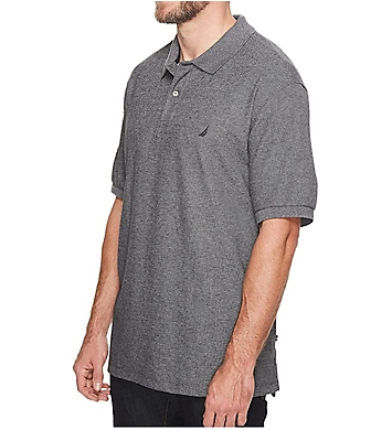 Nautica Big Man Short Sleeve Interlock Polo Shirt