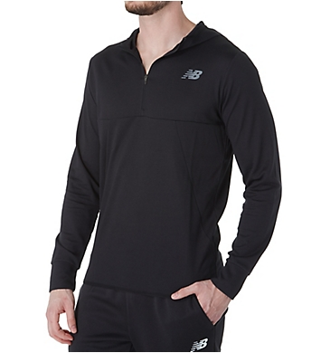 New Balance Tenacity Hooded Quarter Zip