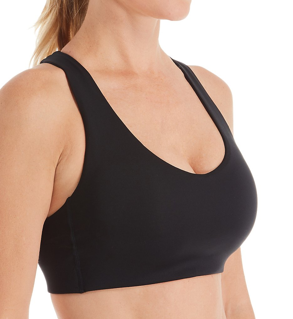New Balance - New Balance WB93044 NB Dry Fuel Medium Impact Sports Bra (Black S)