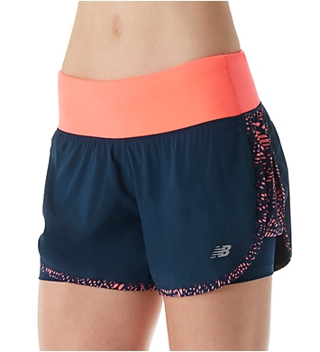 New Balance Impact NB Dry 4 Inch 2-in-1 Running Short