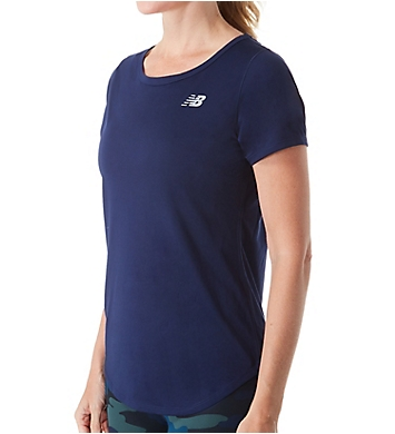New Balance Accelerate NB Dry Short Sleeve Crew Neck Tee