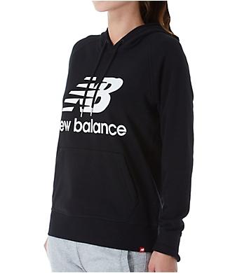neue Version uk billig verkaufen Sortenstile von 2019 New Balance Essentials Logo Pullover Hoodie WT91523