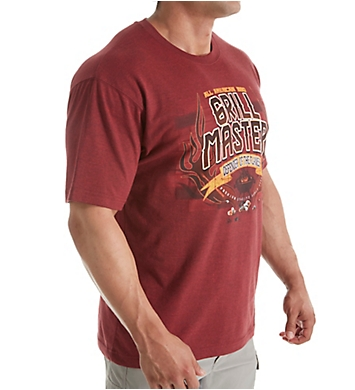 Newport Blue Grill Master Cotton T-Shirt