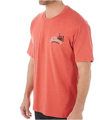 Newport Blue King Crabby Crab House Cotton T-Shirt