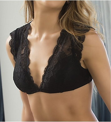 Oh La La Cheri Suzette Lace Bralette with Cap Sleeve
