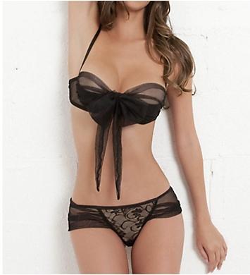Oh La La Cheri Tie Bra And Panty Set
