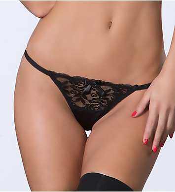 Oh La La Cheri Open Back Tanga with Lace
