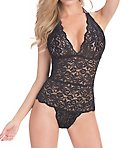 Full Lace Halter Teddy